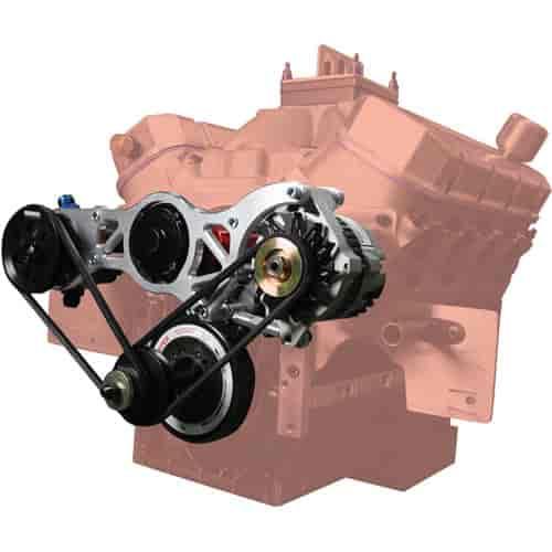 Moroso 63866 Alternator Amp Vacuum Pump Mounting Kit Bbc Jegs