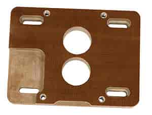 Moroso 64953 - Moroso Carburetor Adapters - Insulating Phenolic