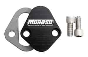 Moroso 65396 - Moroso Fuel Pump Block-Off Plates