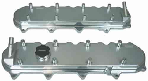 Moroso Billet Aluminum Valve Covers With Coil Mounts & Oil Fill Fits GM  LT1/LT4/L86 Cylinder Heads