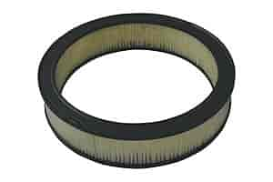 Moroso 97080 - Moroso Flat Bottom Racing Air Cleaner