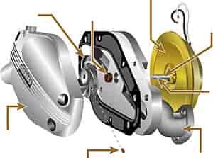 Moroso 97257 Replacement Water Pump Motor Ebay