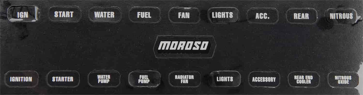 Moroso 97542 - Moroso Universal Toggle Switch Panels