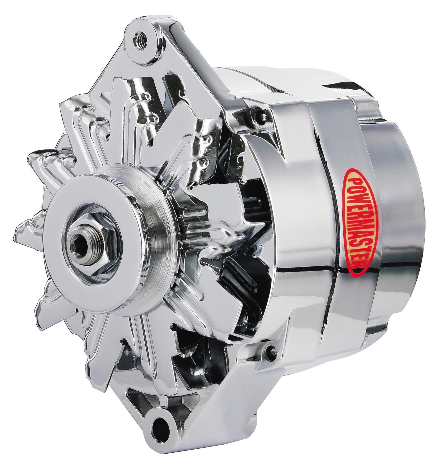 powermaster 17127 10si internally regulated alternator 85 amp jegs
