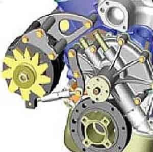 Powermaster 1730 - Powermaster Pro Series Alternators and Mount Kits