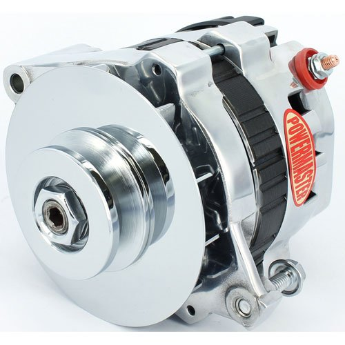 Powermaster 28466 - GM CS121 Style 5x5 Compact Race Alternators
