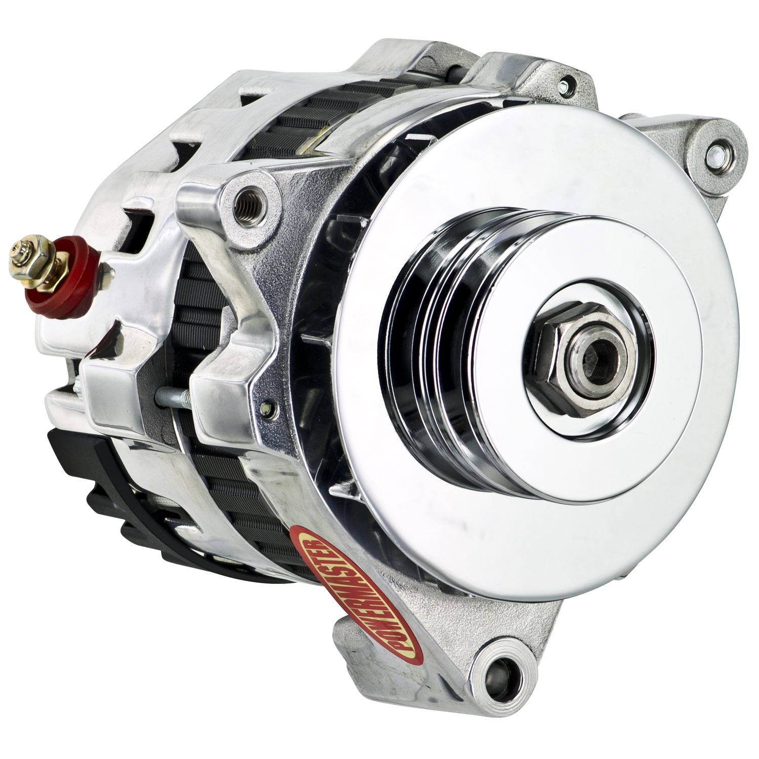 Powermaster 28478-114 - Powermaster GM CS121 Style 5x5 Compact Race Alternators