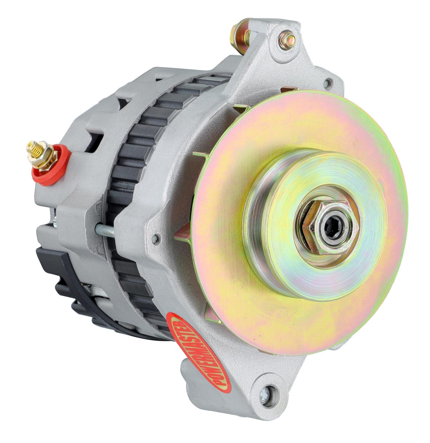 Powermaster 7468-104 - Powermaster GM CS121 Style 5x5 Compact Race Alternators