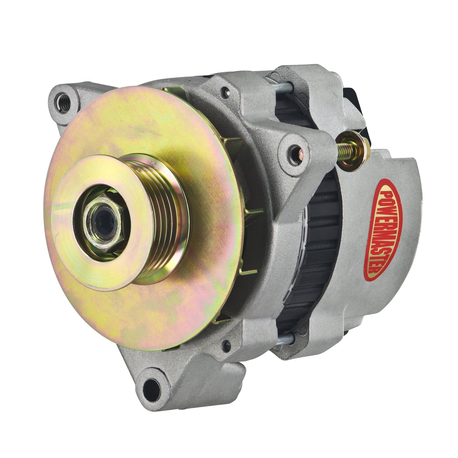 Powermaster 7472-104 - Powermaster GM CS121 Style 5x5 Compact Race Alternators