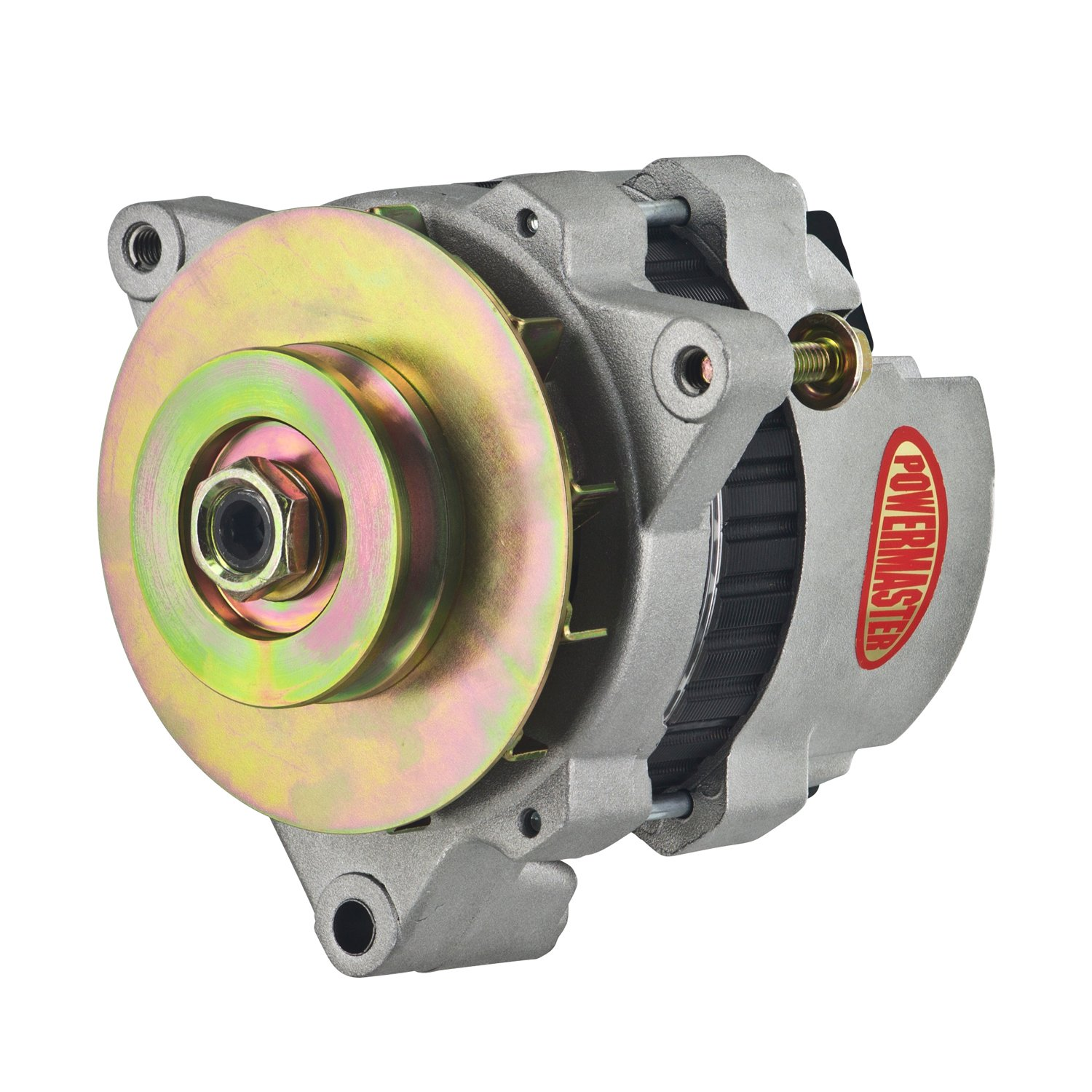 Powermaster 7476-104 - Powermaster GM CS121 Style 5x5 Compact Race Alternators