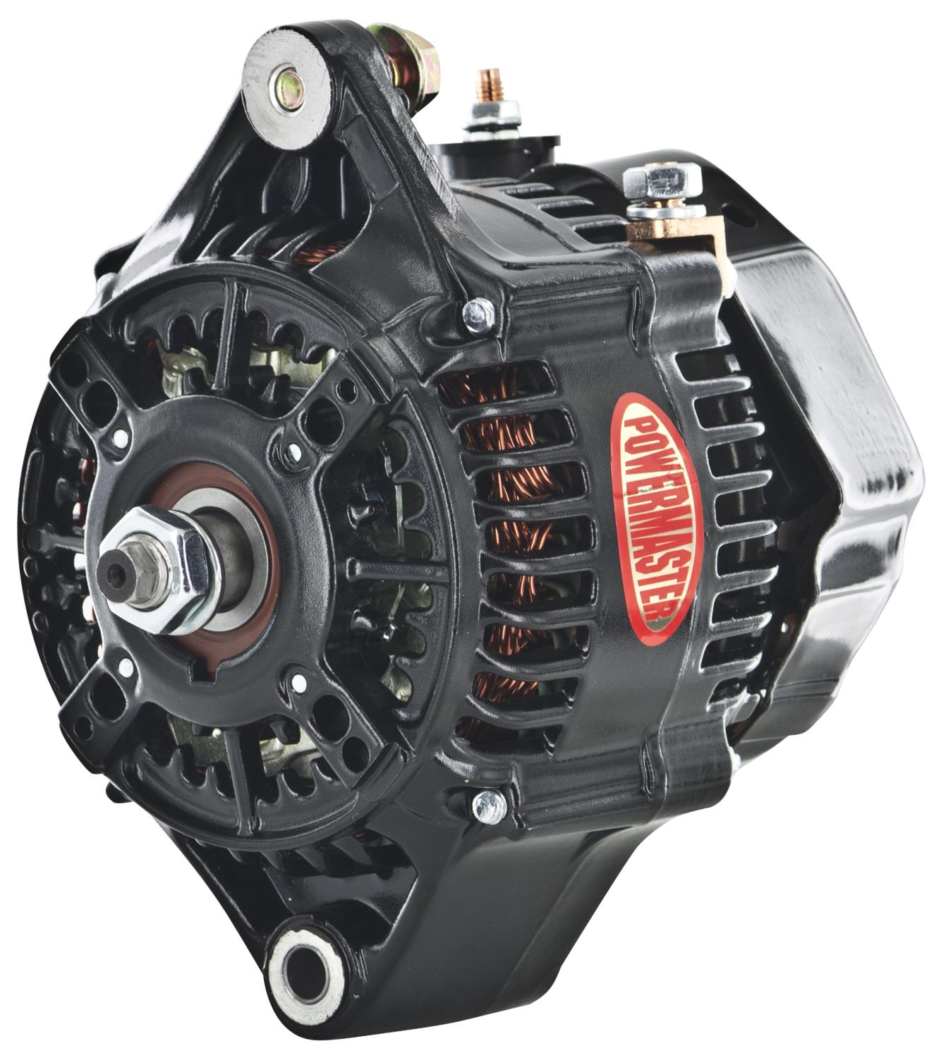 713 8142 powermaster 8142 denso style 118mm race alternator 150 amp 1 wire powermaster alternator wiring diagram at bayanpartner.co