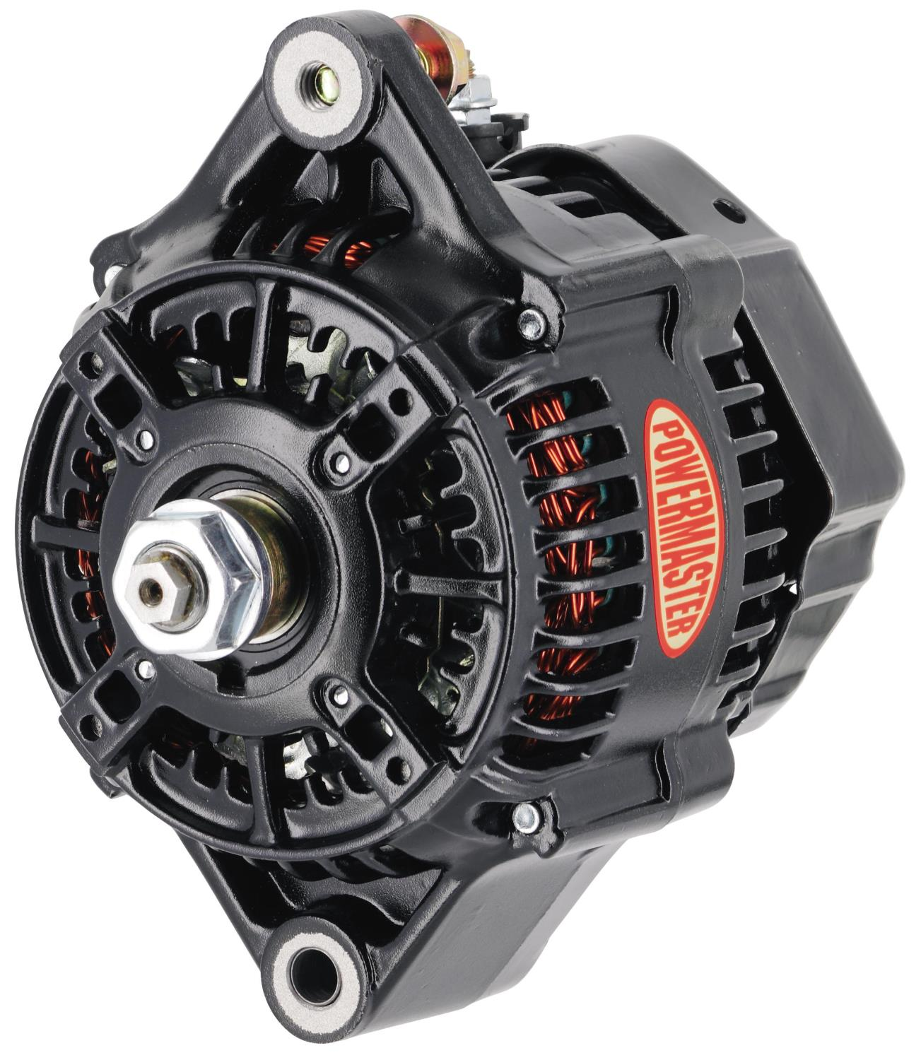 powermaster 8152 denso style 118mm race alternator 180 amp 1 wire jegs