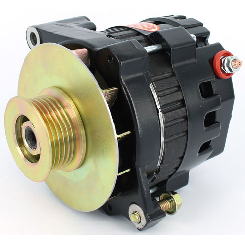 Powermaster 8468-104 - Powermaster GM CS121 Style 5x5 Compact Race Alternators