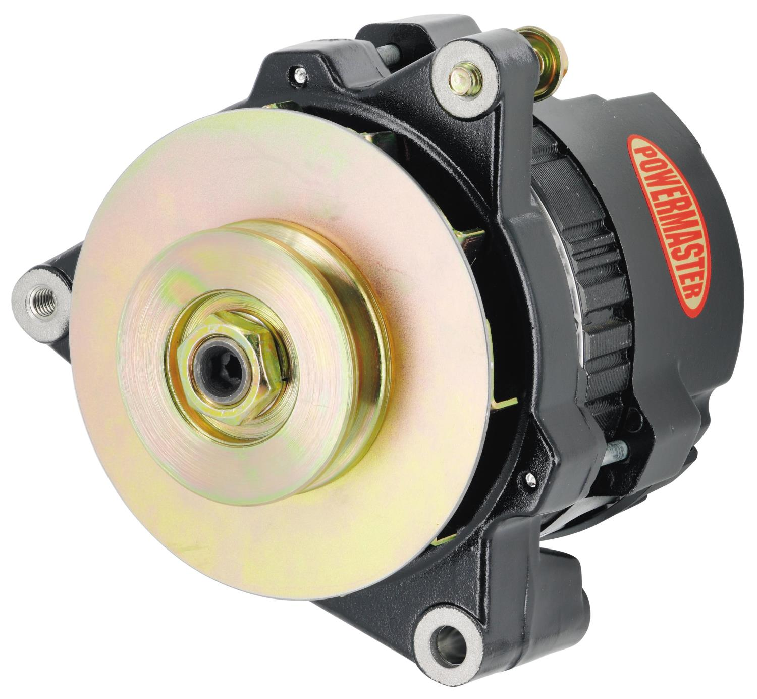 Powermaster 8476-104 - Powermaster GM CS121 Style 5x5 Compact Race Alternators