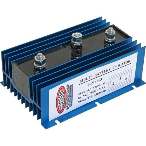 Powermaster 906 - Powermaster Battery Isolator