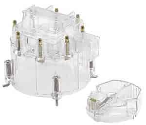 Mr. Gasket 1263C - Mr. Gasket Transparent Distributor Cap
