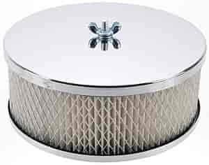 Mr. Gasket 1485 - Mr. Gasket Chrome-Plated Air Cleaners