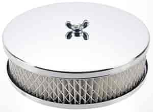 Mr. Gasket 1486 - Mr. Gasket Chrome-Plated Air Cleaners