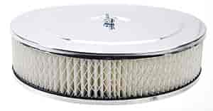 Mr. Gasket 1487 - Mr. Gasket Chrome-Plated Air Cleaners