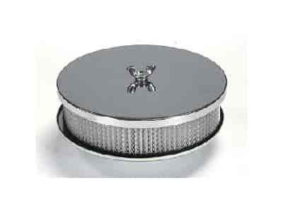 Mr. Gasket 1491 - Mr. Gasket Chrome-Plated Air Cleaners