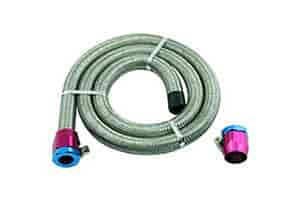 Mr Gasket 1526 - Mr. Gasket Stainless Steel Braided Hose