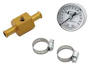 Mr. Gasket 1560 - Mr. Gasket Fuel Line w/Pressure Gauge
