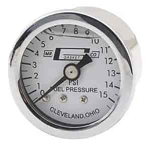 Mr. Gasket 1563 - Mr. Gasket Fuel Line w/Pressure Gauge