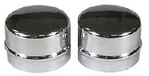 Mr. Gasket 2485 - Mr. Gasket Chrome Dust Caps
