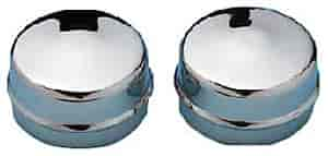 Mr. Gasket 2486 - Mr. Gasket Chrome Dust Caps