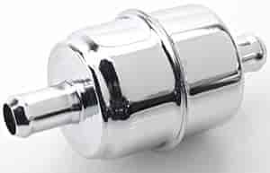 Mr. Gasket 2526 - Mr. Gasket Chrome Fuel Filters
