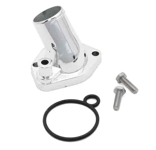 Mr. Gasket 2662 - Mr. Gasket Chrome Thermostat Housings