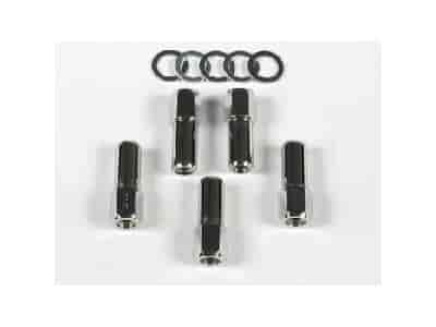 Mr. Gasket 4304 - Mr. Gasket Chrome Lug Nuts