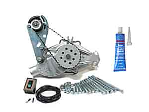 Mr. Gasket 4333K1 - SB-Chevy / BB-Chevy Water Pump & Electric Drive Kits