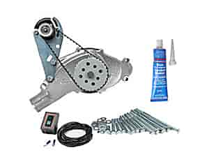 Mr. Gasket 4333K2 - SB-Chevy / BB-Chevy Water Pump & Electric Drive Kits