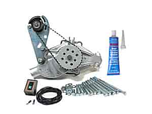 Mr. Gasket 4333K3 - SB-Chevy / BB-Chevy Water Pump & Electric Drive Kits