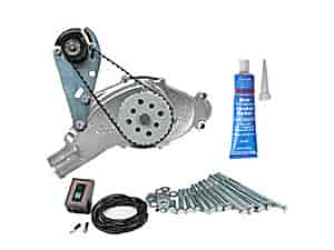 Mr. Gasket 4333K4 - SB-Chevy / BB-Chevy Water Pump & Electric Drive Kits