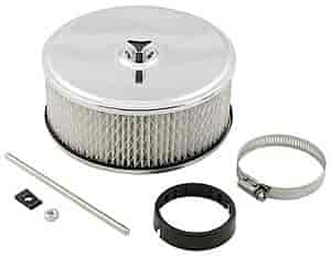 Mr. Gasket 4350 - Mr. Gasket Chrome-Plated Air Cleaners
