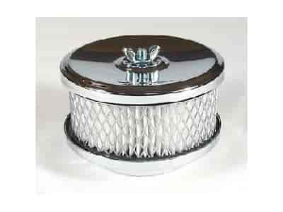 Mr. Gasket 4354 - Mr. Gasket Chrome-Plated Air Cleaners