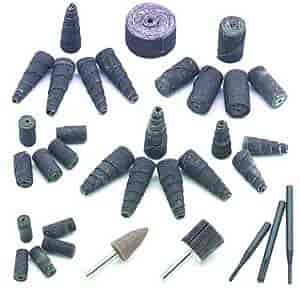 Mr. Gasket 4362 - Mr. Gasket Engine Port Polishing Kit