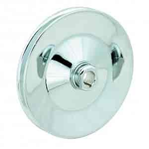 Mr. Gasket 4948G - Mr. Gasket Chrome-Plated Steel Pulleys