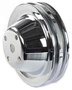 Mr. Gasket 4975 - Mr. Gasket Chrome-Plated Steel Pulleys