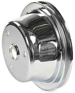 Mr. Gasket 4976 - Mr. Gasket Chrome-Plated Steel Pulleys