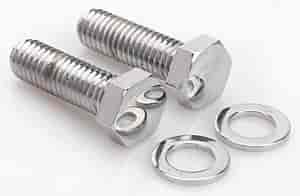 Mr. Gasket 4993 - Mr. Gasket Chrome Fuel Pump Bolts