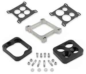 Mr. Gasket 6009 - Mr. Gasket Aluminum Carb Spacer Kit