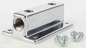 Mr. Gasket 6150 - Mr. Gasket Chrome Fuel Blocks