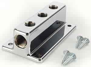 Mr. Gasket 6151 - Mr. Gasket Chrome Fuel Blocks