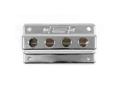 Mr. Gasket 6152 - Mr. Gasket Chrome Fuel Blocks