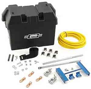 Mr. Gasket 6279 - Mr. Gasket Trunk Mounted Battery Kit