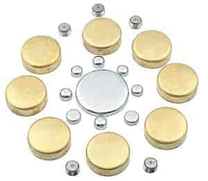 Mr. Gasket 6481 - Mr. Gasket Brass Freeze Plug Kits
