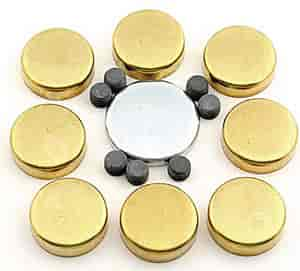 Mr. Gasket 6482 - Mr. Gasket Brass Freeze Plug Kits